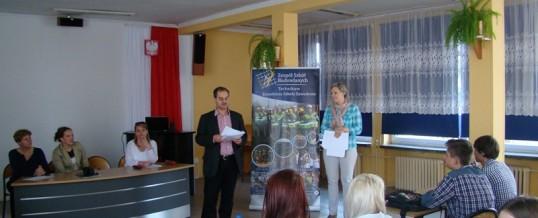 II Konkurs Wiedzy o Unii Europejskiej dla Gimnazjów
