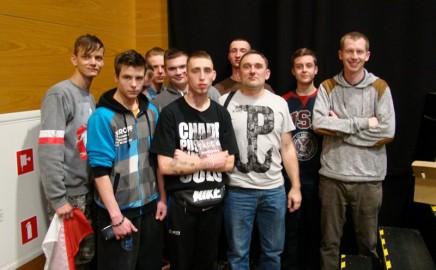 Uczniowie Budowlanki na koncercie Tadka