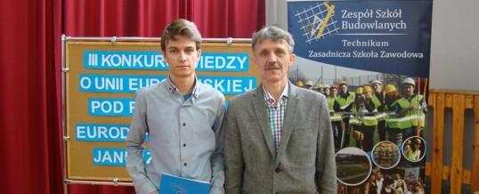 III Konkurs Wiedzy o Unii Europejskiej