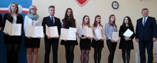 Uroczystość wręczenia dyplomów stypendystom Prezesa Rady Ministrów