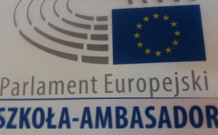 Nasza Szkoła – Ambasadorem Parlamentu Europejskiego